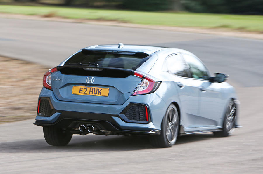 Swindon-built Honda Civic cornering