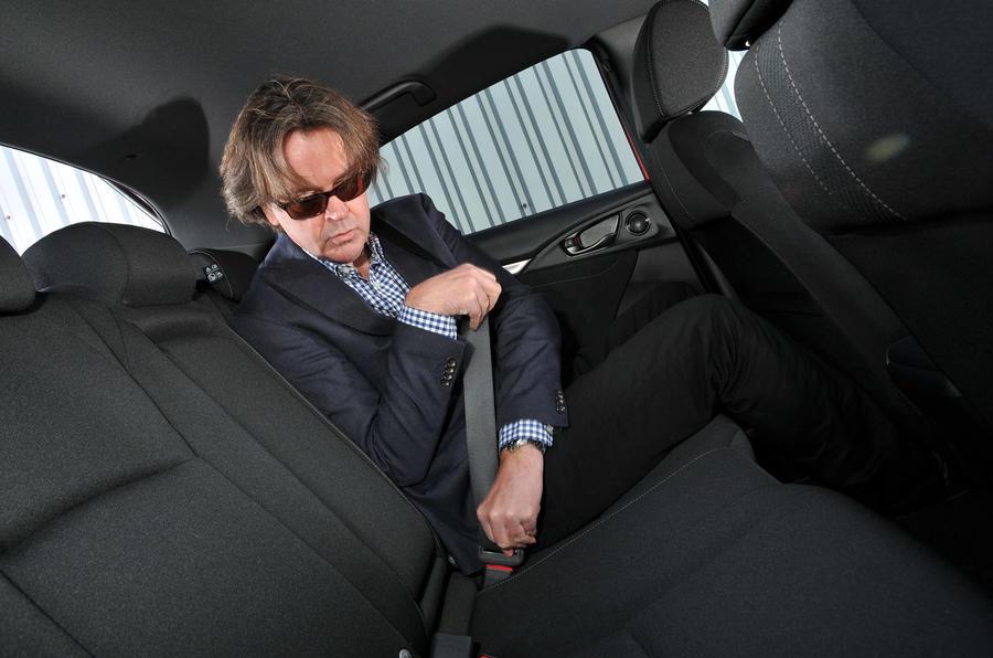 Honda Civic rear seats