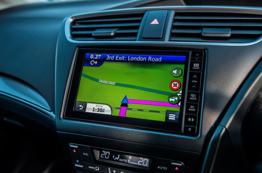 Honda Civic infotainment system