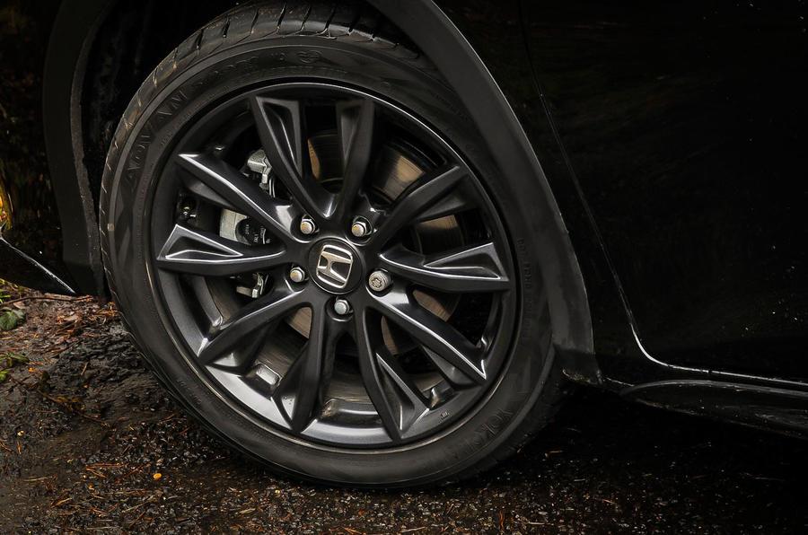 17in Honda Civic Black Edition alloys