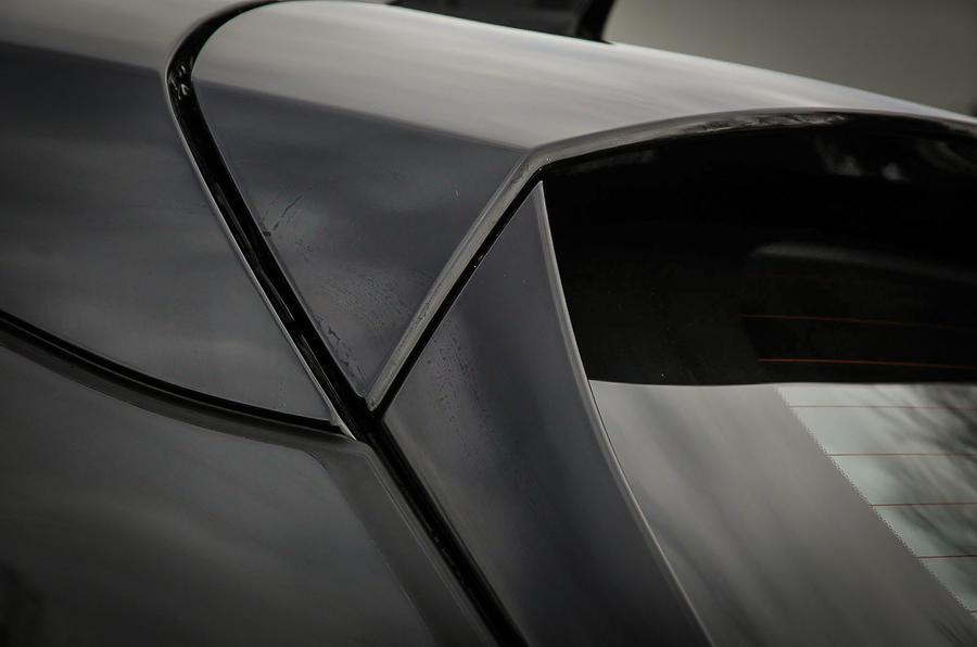 Honda Civic Tourer rear spoiler
