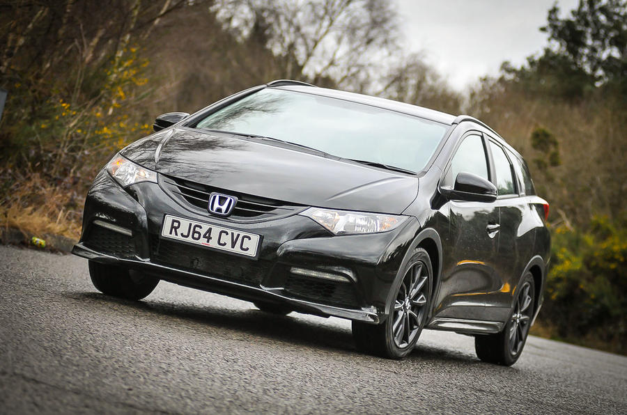Honda Civic Tourer Black Edition