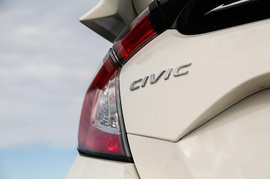 Honda Civic Type R badging