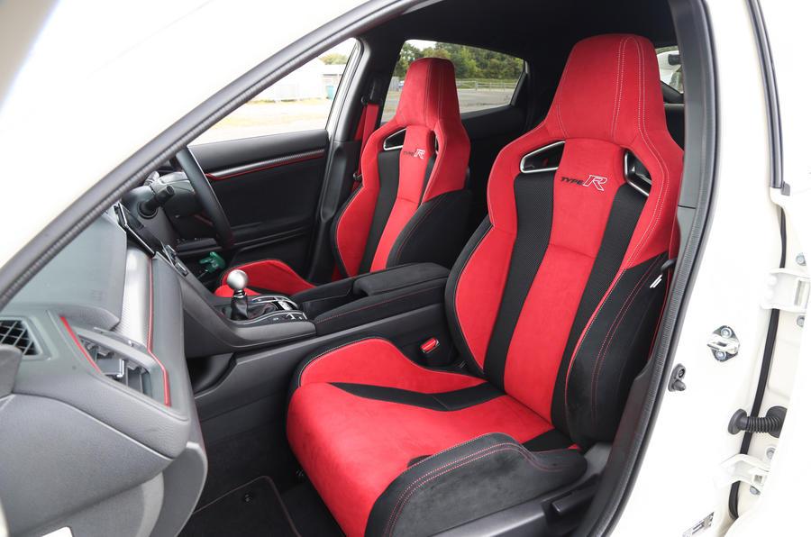 Honda Civic Type R bucket seats