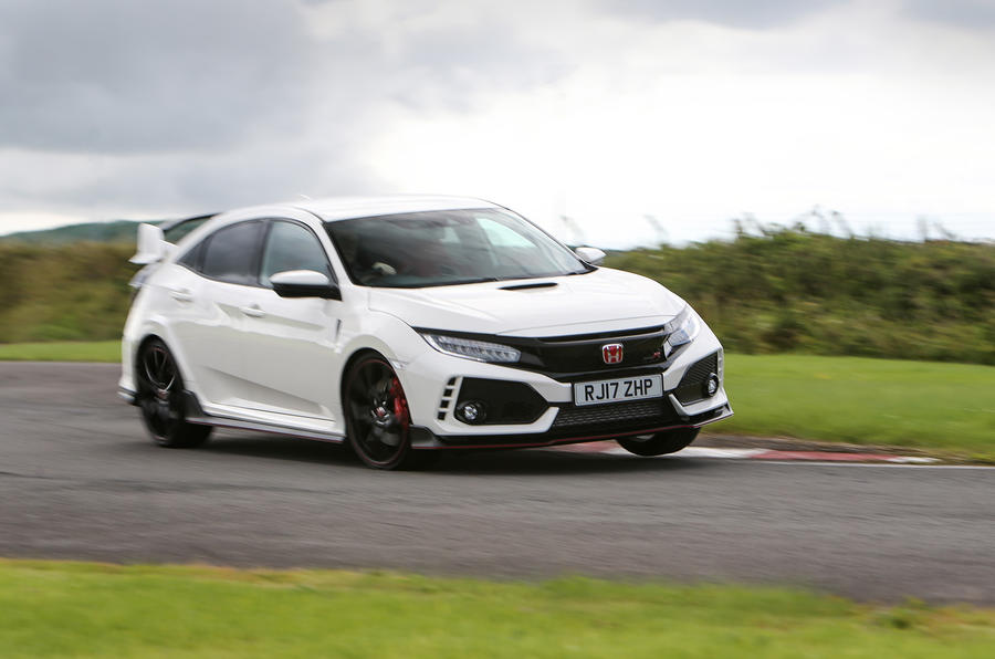 Four-star Honda Civic Type R