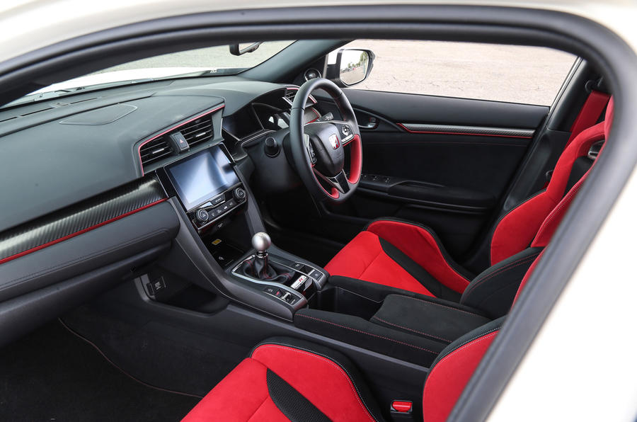 Honda Civic Type R interior