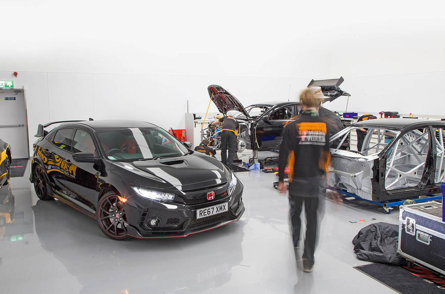 Honda Civic Type R longterm review BTCC factory