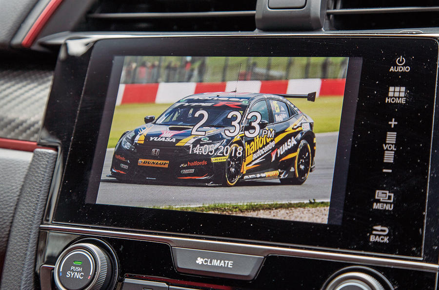 Honda Civic Type R longterm review infotainment customisation