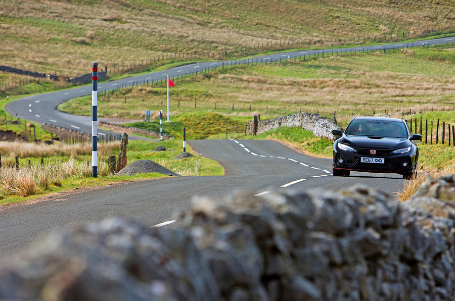 Honda Civic Type R longterm review Matt Prior Pennines