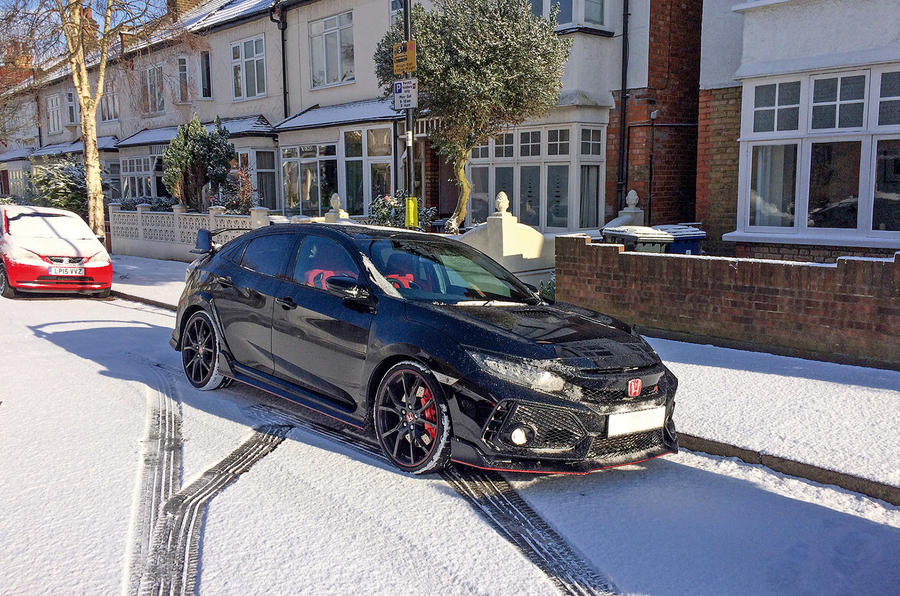 Honda Civic Type R longterm review in the snow
