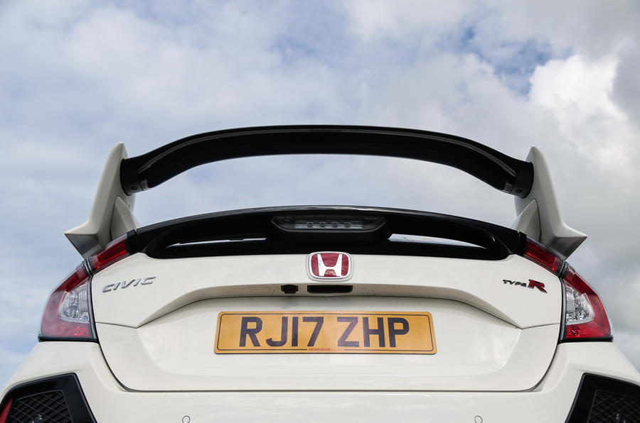 Honda Civic Type R rear wing