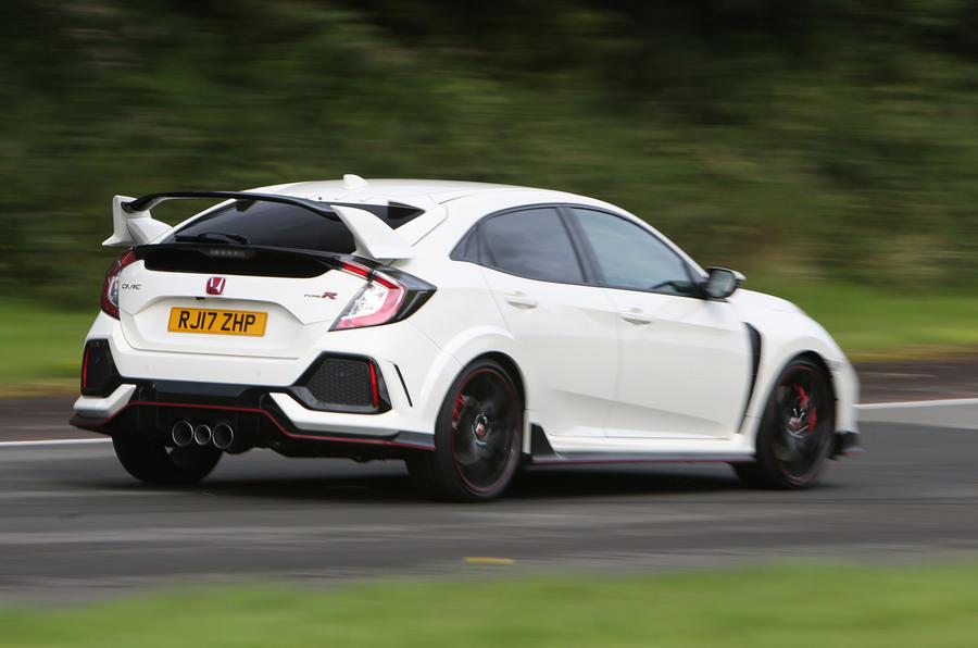 Honda Civic Type R rear