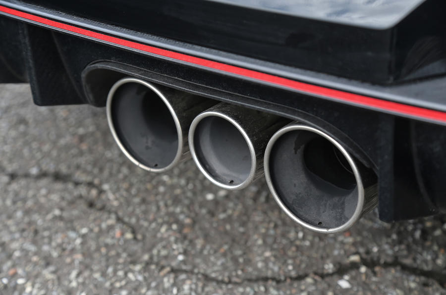 Honda Civic Type R triple exhaust
