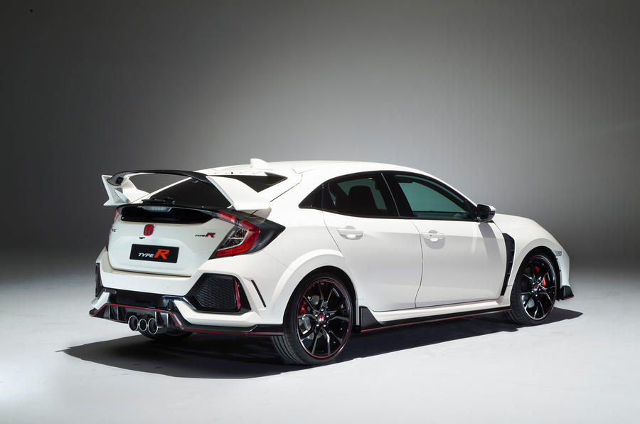 honda civic type r unveiled at geneva motor show 2017. Black Bedroom Furniture Sets. Home Design Ideas
