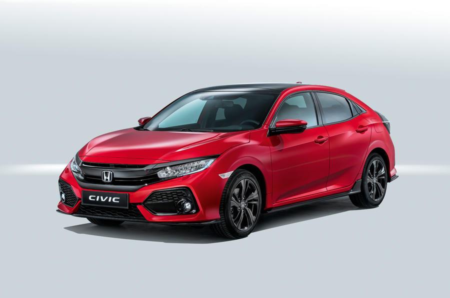 2017 Honda Lineup >> Vwvortex Com Revealed 2017 Honda Civic Hatchback Joins The Lineup