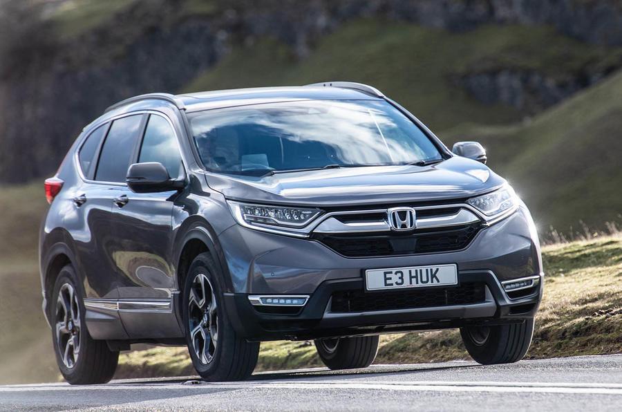 Honda crv hybrid uk