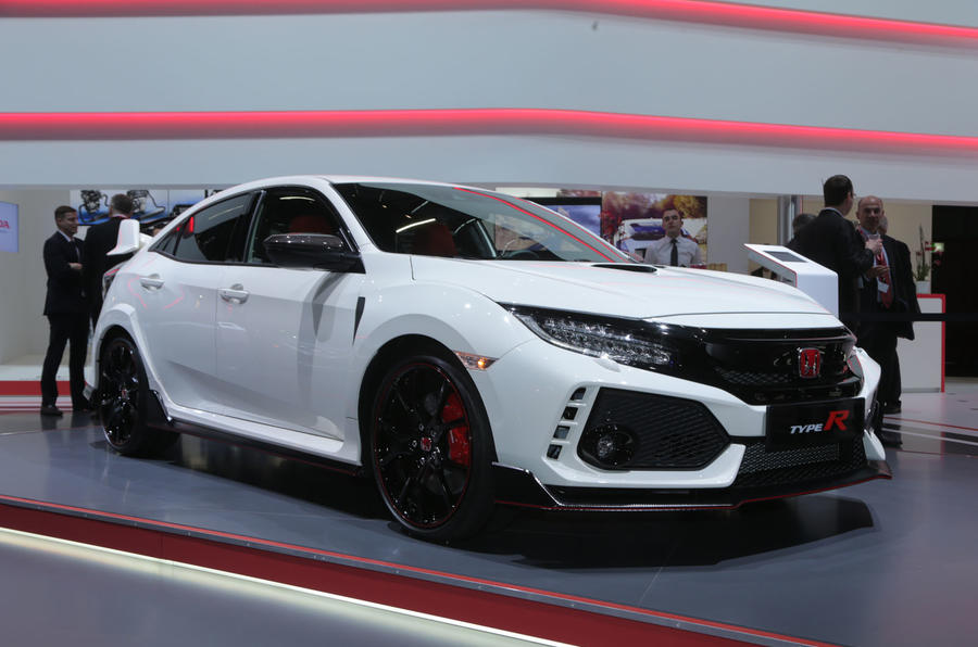 honda civic type r unveiled at geneva motor show 2017 autocar. Black Bedroom Furniture Sets. Home Design Ideas