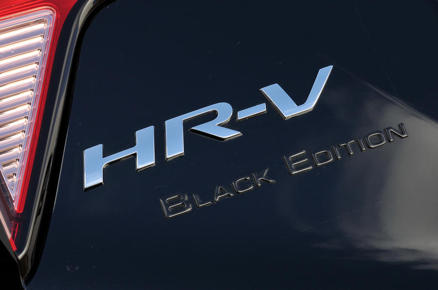 Honda HR-V Black Edition badging
