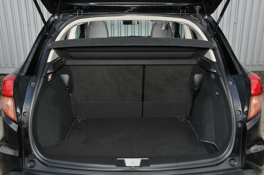 Honda HR-V Black Edition boot space
