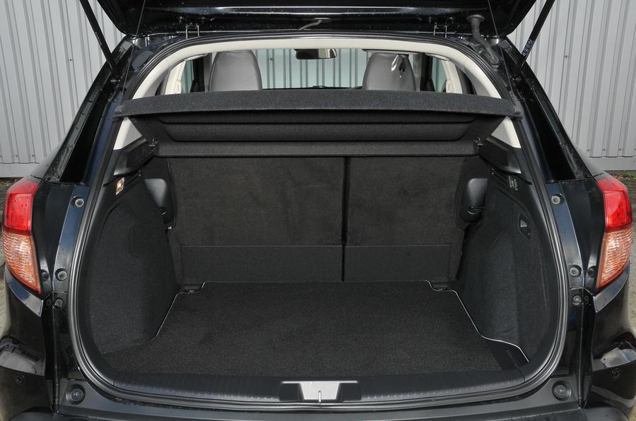 Honda HR-V Black Edition boot space