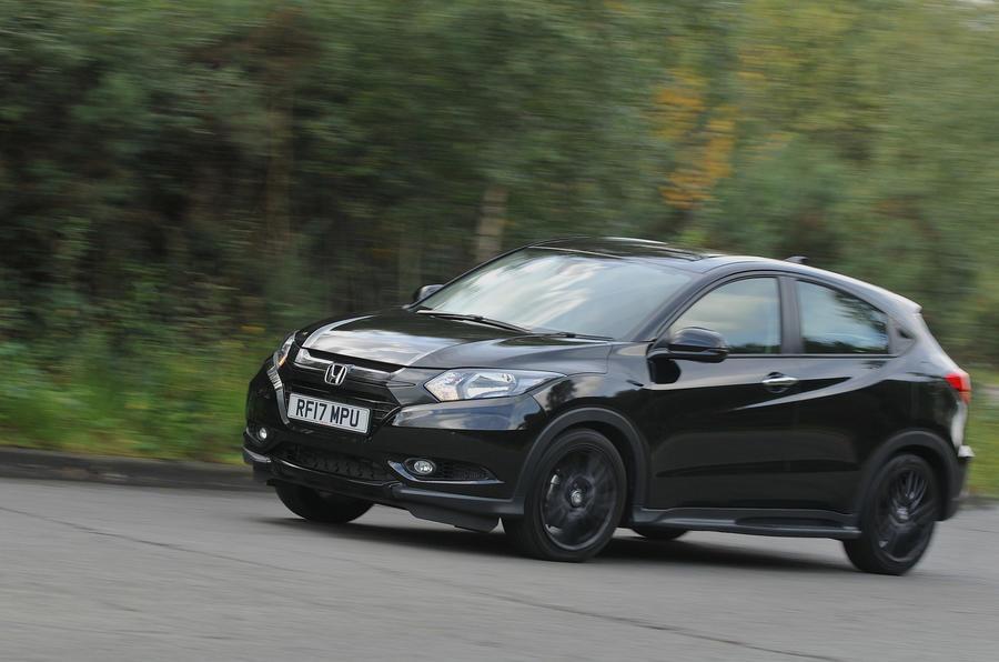 Honda hrv black