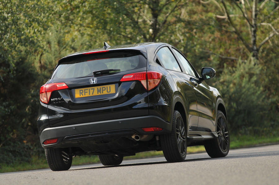 Honda HR-V Black Edition rear