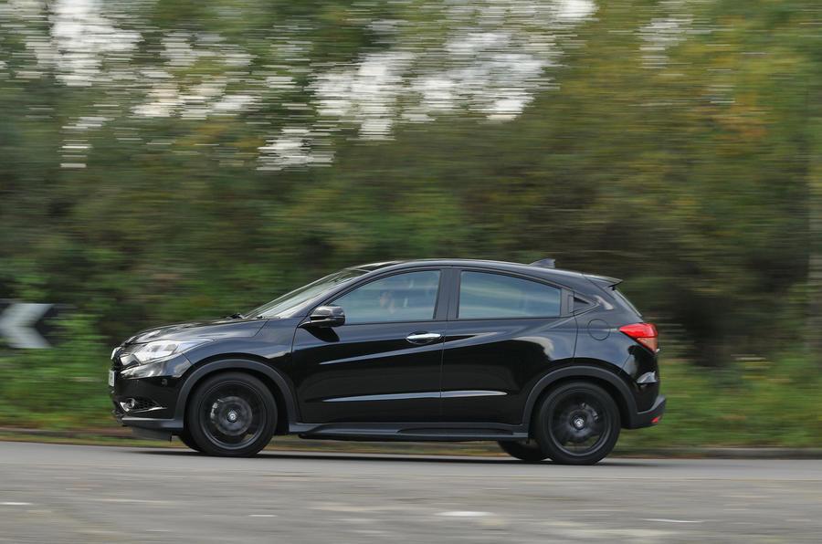 Honda HR-V Black Edition side profile