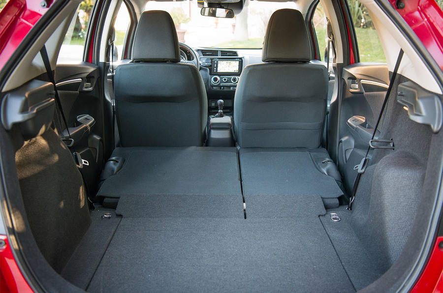Honda Jazz extended boot space