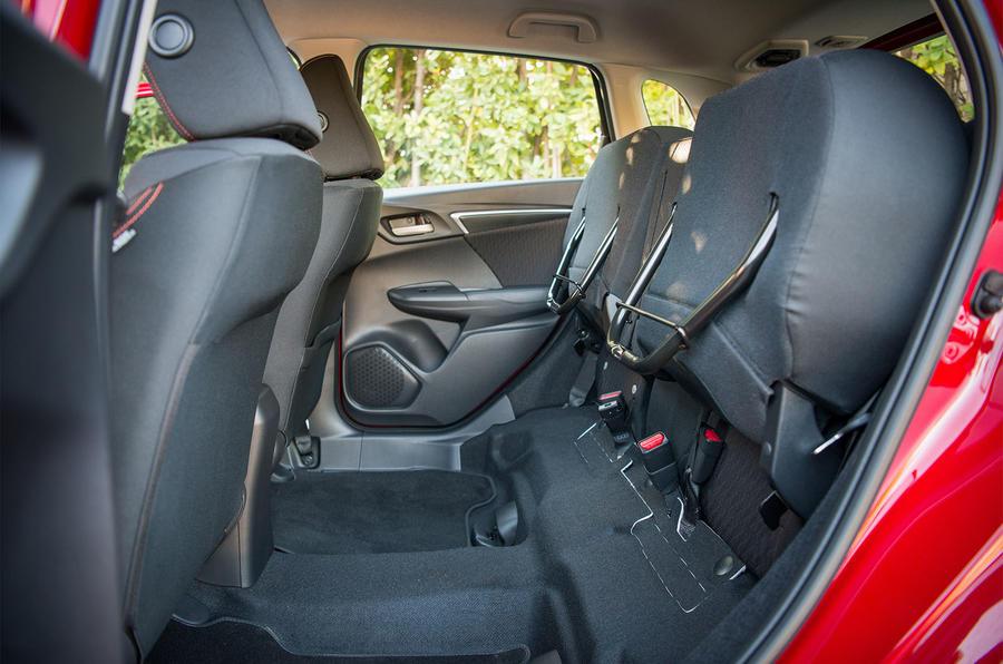 Honda Jazz magic rear seats