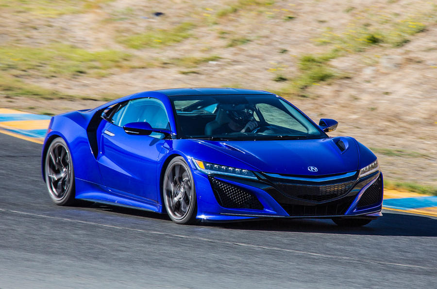 2016 honda nsx road and track review review autocar for Honda most expensive car