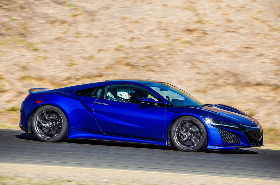 2016 honda nsx road and track review review autocar