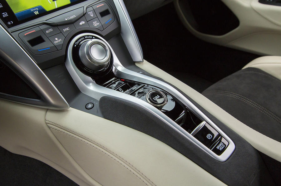 Honda NSX automatic gearbox