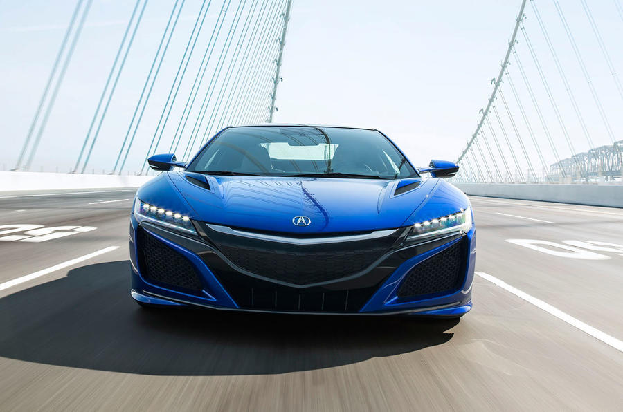 Honda NSX front end