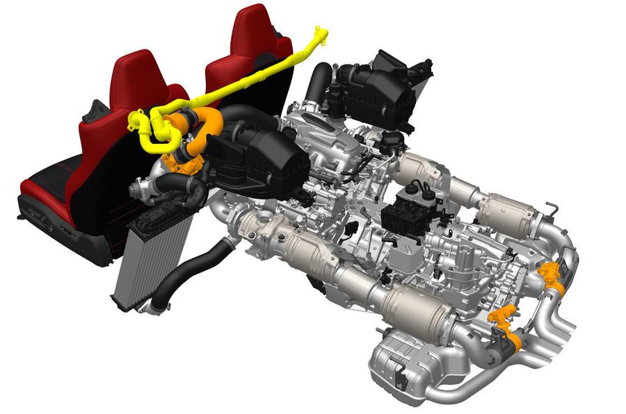 Honda NSX hybrid engine