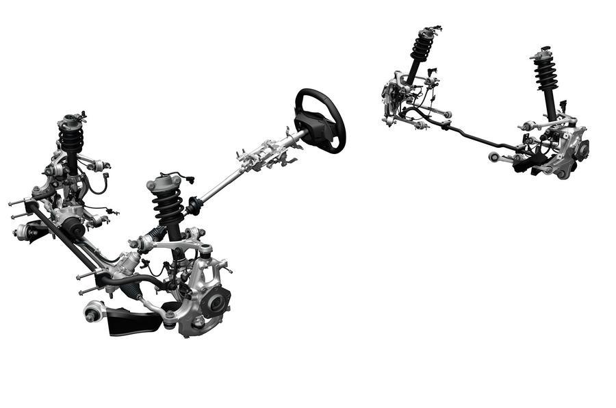 Honda NSX suspension set-up