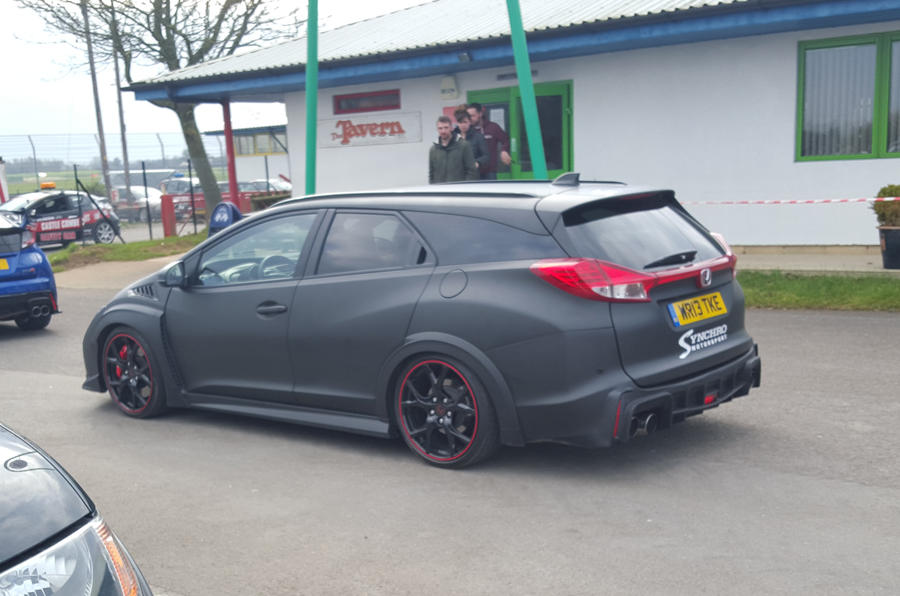 Synchro Motorsport Reveals One Off Honda Civic Tourer Type
