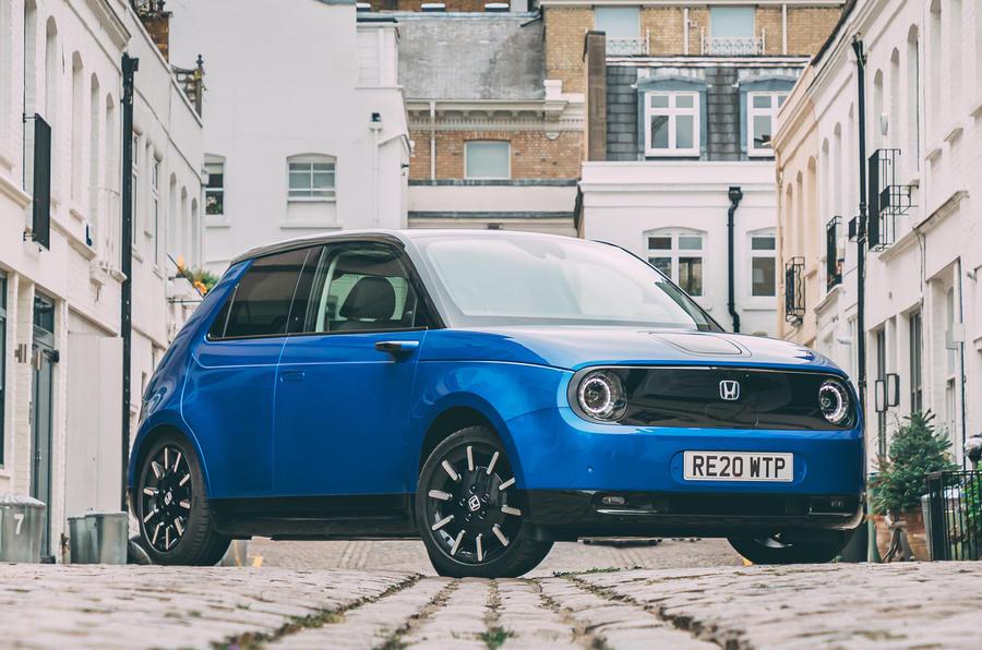 Britain S Best In Car Technology 2020 Honda E Autocar