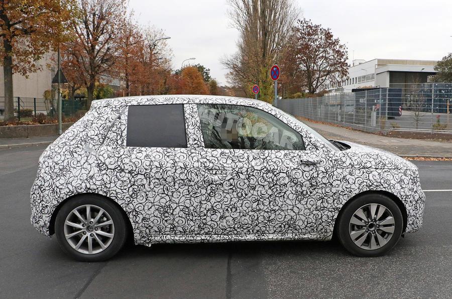 Honda Urban EV spied on the road - side