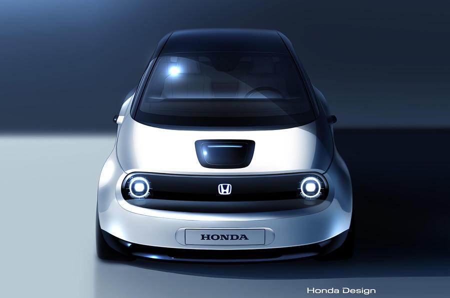 Honda Urban EV production prototype sketch