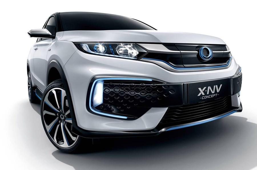 Honda X-NV concept - nose