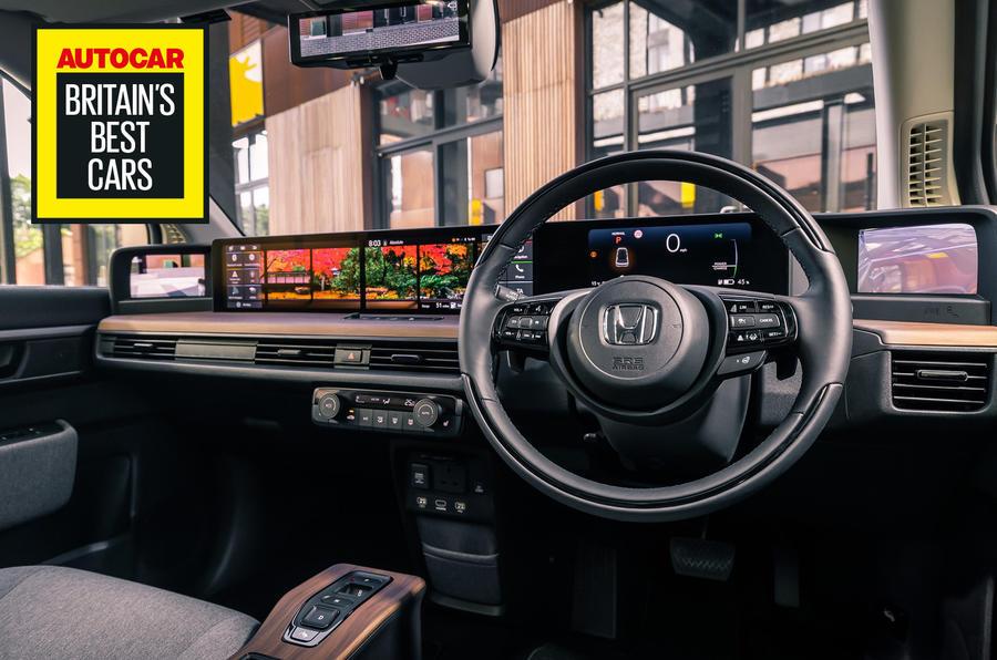 Britain's best in-car technology 2020 - Honda E