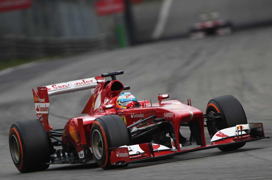Good The Ferrari F138 Of 2013 Was Driven By Fernando Alonso And Felipe Massa