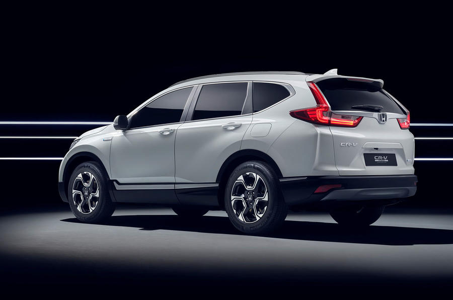 New CR-V Hybrid Prototype hits Frankfurt — Hybridised Honda SUV
