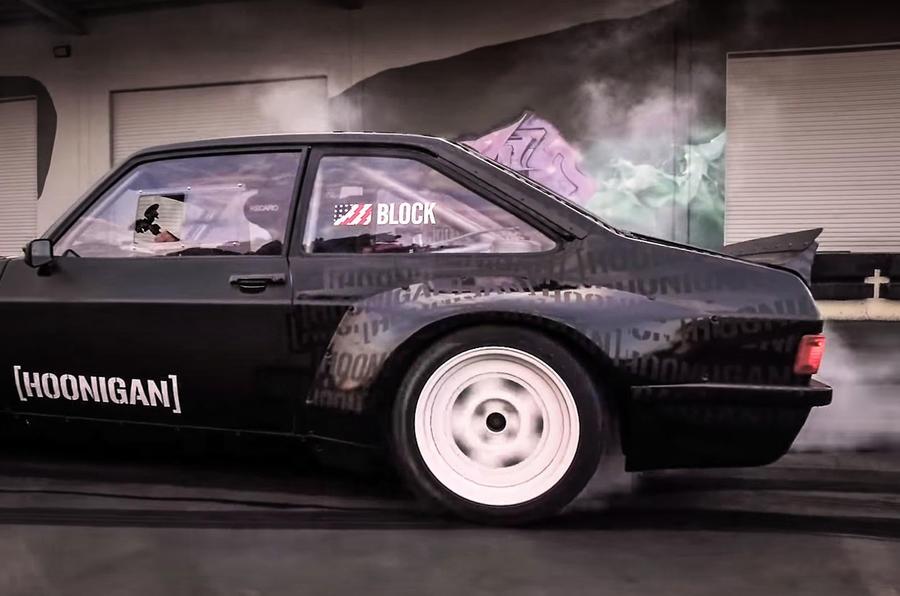 Ken Block Reveals Gymkhana Ford Escort Mk2 Rs Autocar