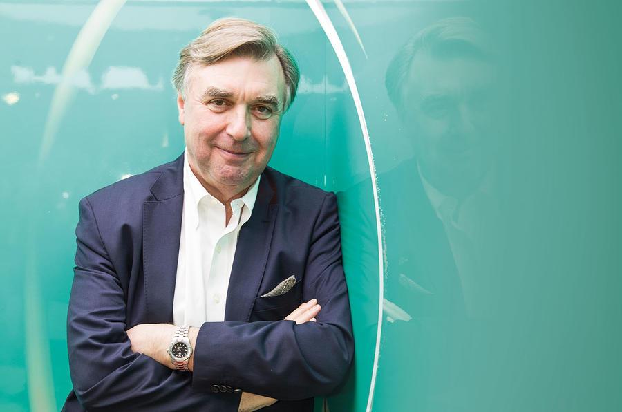 How British designer Peter Horbury shaped Lynk&Co's look