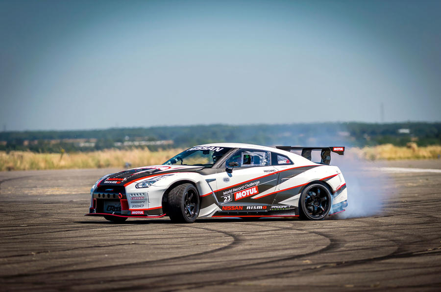 Nissan GT-R - how to drift