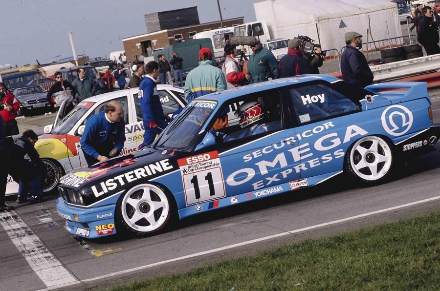 Will Hoy's three races wins in the 1991 season helped him claim the title in a BMW M3 E30