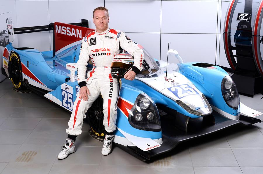 Chris Hoy Ligier JS P2