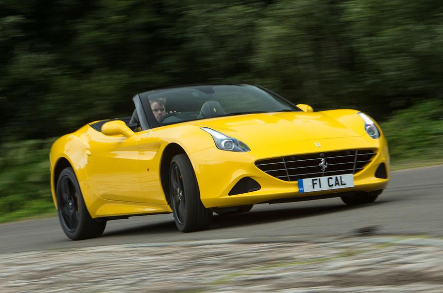 Ferrari California T Handling Speciale cornering