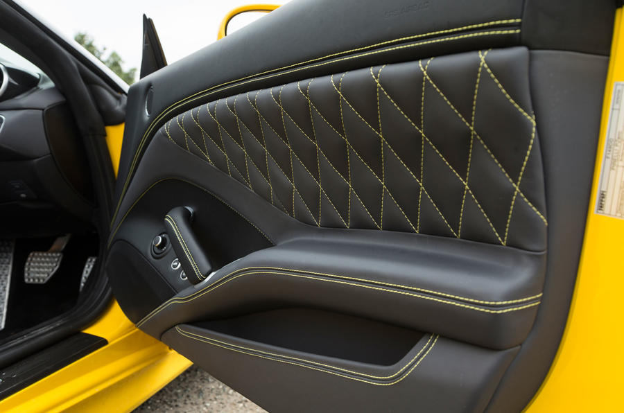 Ferrari California T Handling Speciale quilted door cards